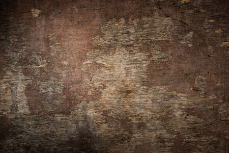 Dark Brown Wood Texture with Scratches as Background