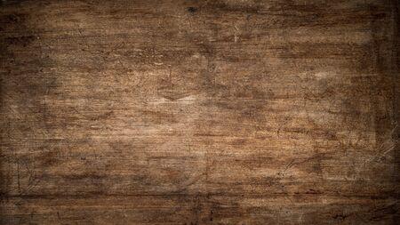 Textura de un viejo panel de madera rayada como fondo Foto de archivo