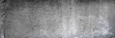 Texture of old, grungy, gray and white concrete or cement wall for background Stock Photo - 137636798