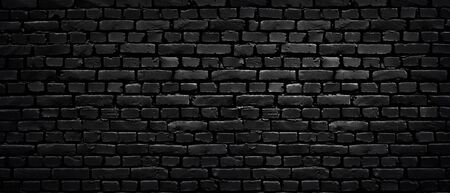 Texture Of A Perfect Black Brick Wall As Background Or Wallpaper Stock Photo Picture And Royalty Free Image Image 141371079