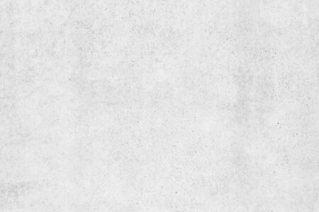 Texture of smooth white concrete wall for background or wallpaper