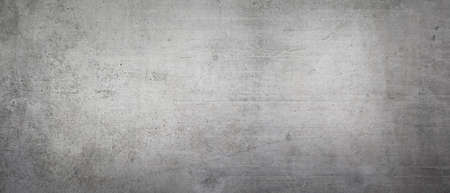 Texture of an old gray concrete wall as a background or wallpaper Standard-Bild
