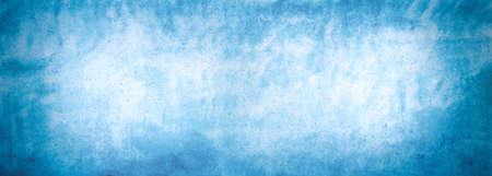 Blue concrete wall as an abstract background Standard-Bild