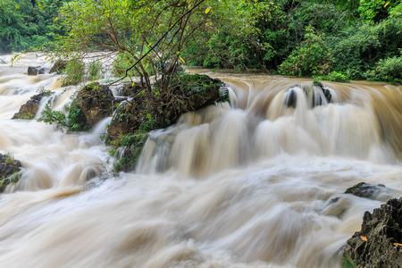 Huangguoshu Waterfall, Tianxingqiao Scenic Area, Rapid River