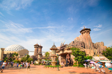 Jiangsu, China Changzhou play Valley Amusement Park