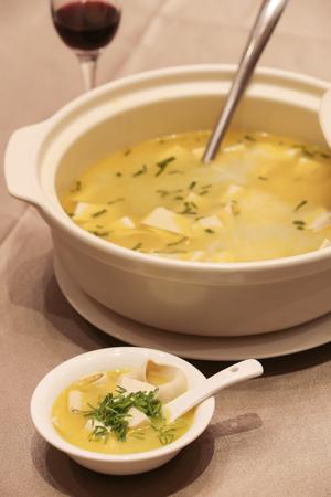 hot tripe soup