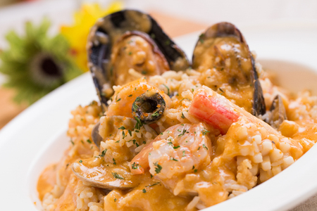 Lobster Soup Seafood Risotto