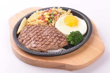 Grilled steak 写真素材