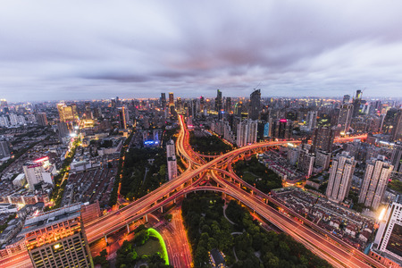 elevated: Yanan Elevated Road