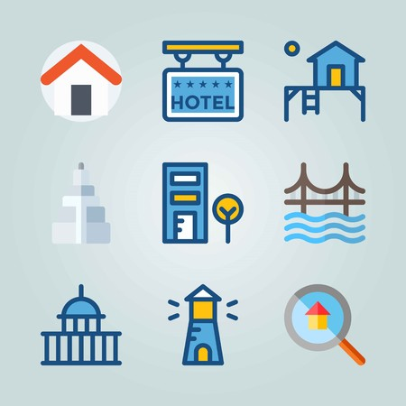 Icon set about Construction
