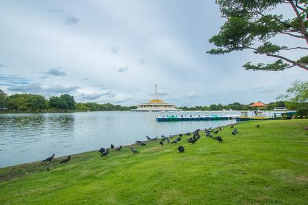 ix: Suanluang RAMA IX public park. Stock Photo