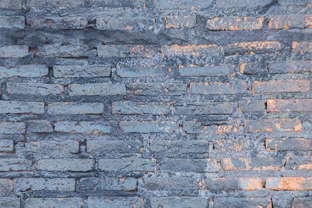 controversial: Art brick wall. Stock Photo