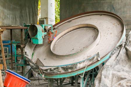 fertilizer: The fertilizer or manure machine.