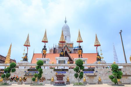 Wat Phutthaisawan, Ayuthaya, Thailand. - April 29, 2017 : Phutthaisawan Temple in Ayuthaya Historical Park, UNESCO World Heritage Site in Thailand.