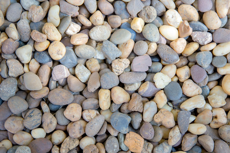 Small Pebbles Or Stone Or Rock In Garden. Stock Photo, Picture And Royalty  Free Image. Image 84148030.