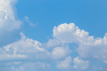 blue sky and clouds or cloudscape. Stock Photo - 90504158