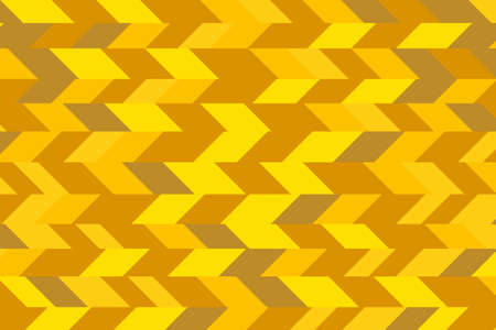 Abstract image of random cut line colorful gold or yellow golden color for background.
