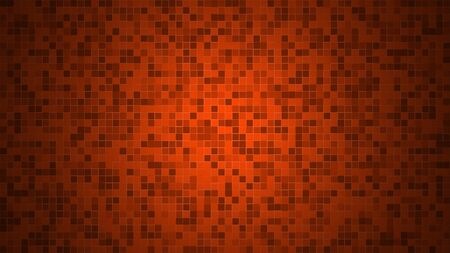 Red or orange wall textured tiled for background or backdrop. With 4k resolution.