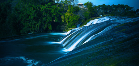 karst: Karst waterfall