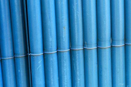 canes fence closeup