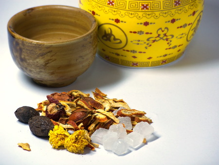 reduces: Chinese herbal tea