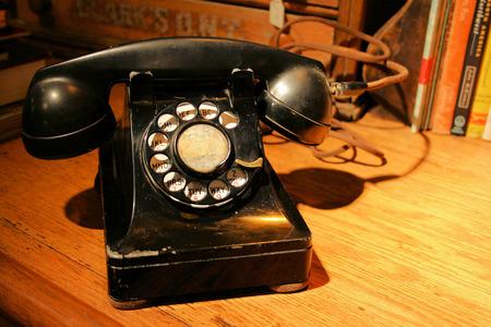 Téléphone vintage Banque d'images - 84849736