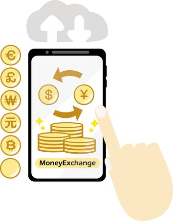 Smartphone Currency Exchange on the Internet