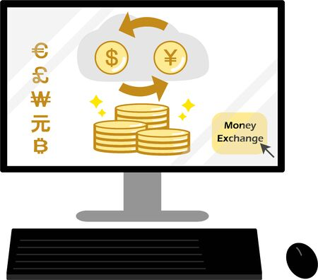 Computer Currency Exchange exchange on the Internet