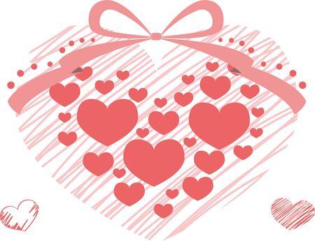 Valentine's Image Heart Illusztráció