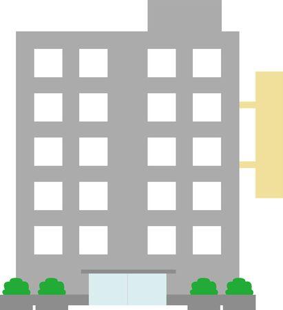 Company Building Company Illustration Illustration