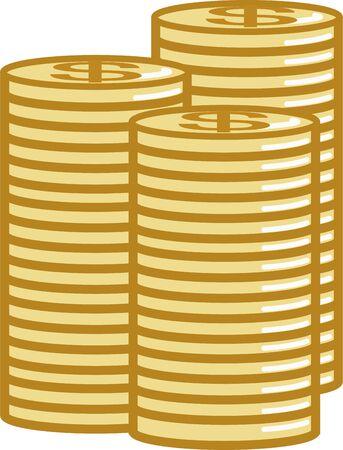 Dollar coin image