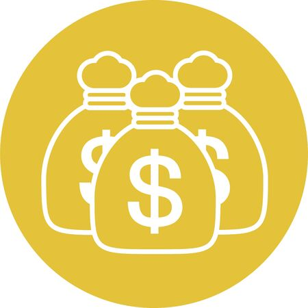 Dollar bag money image