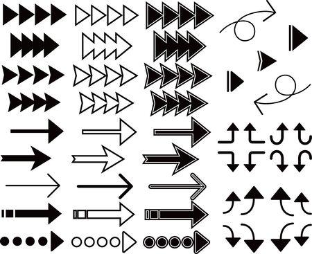 Various arrow sets