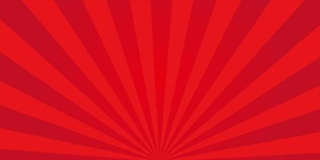 Red Radial Background