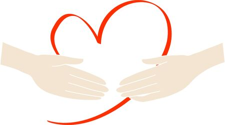 Image of loving handshake (air handshake) 写真素材 - 148806919