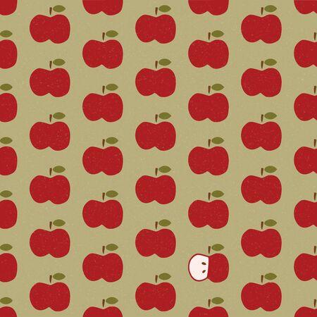 Apple background pattern frame 写真素材 - 149331697