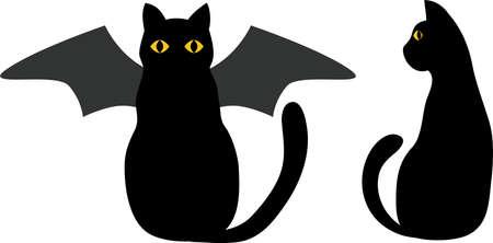 Halloween 2 cats