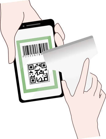 QR code settlement image