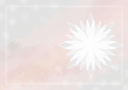 Background illustration of flower motif.