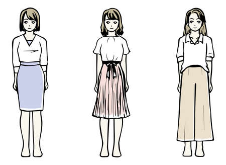 3 types of clothes that look good from the viewpoint of skeletal diagnosis (straight wave natural)