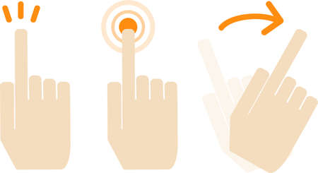 Finger Material Set - Gestures