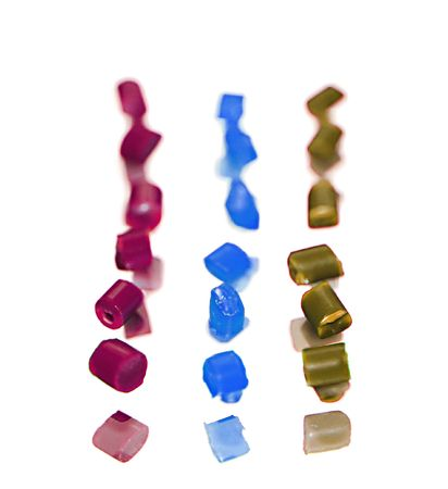 abstract polymer resin Stock Photo - 8047357