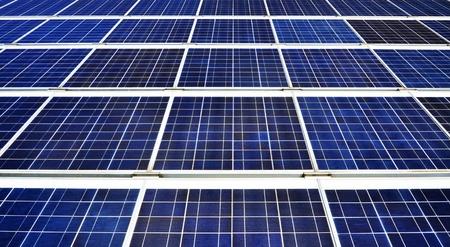 solarpanel: Solarpanels Stock Photo