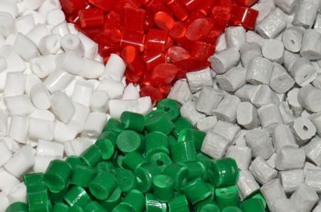 several polymer resins