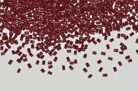 red polymer resin for background photo