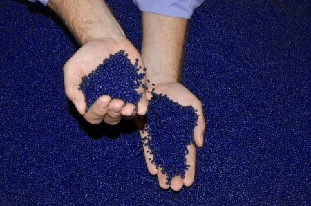 resin: comprobaci�n de pol�mero en laboratorio