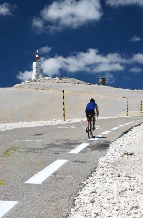 Tour de France at Mont Ventoux, Provence, France