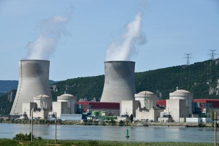 nuclear power plant Banque d'images