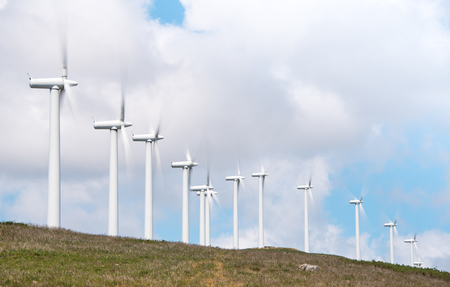 electric power: windmill-powered plant on Hilltop