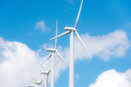 energia electrica: planta de molino de viento impulsados ??en cumbre